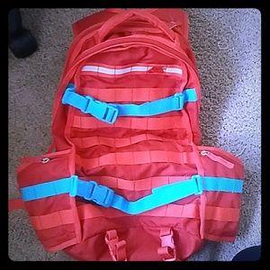 Nike SB orange and teal Backpack